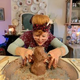Online Beeldhouwen met chocola