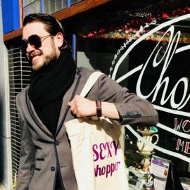Shoppen met sexy man of vrouw