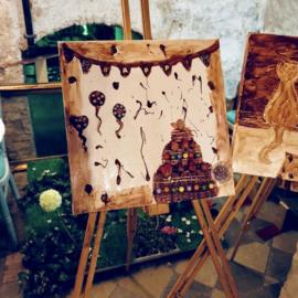 DIY | Online schilderen met chocolade