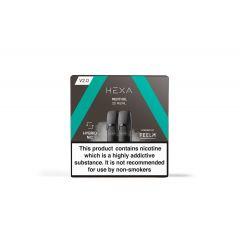 Hexa V2.0 Pods Menthol - Nicotine Salt