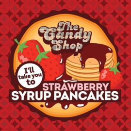 I'll take you to Strawberry Syrup Pancakes