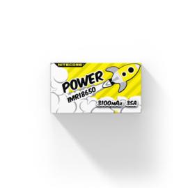 Nitecore - 2x 18650 Batterij 3100mAh
