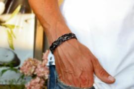 Paardenhaar armband breed