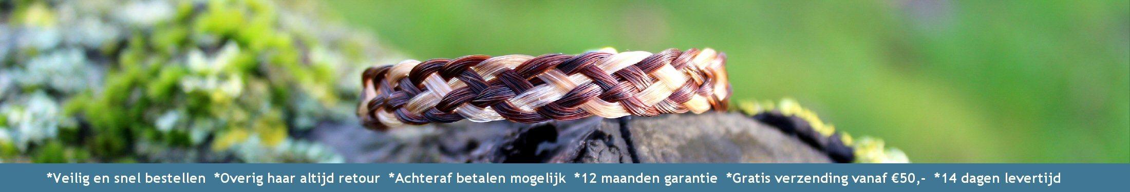 Paardenhaar armband