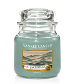 Yankee Candle - Misty Mountains Medium Jar
