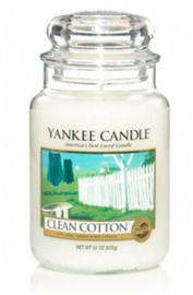 Yankee Candle - Clean Cotton Large Jar