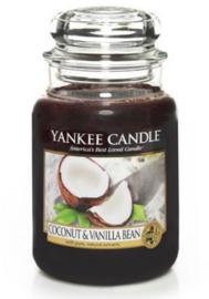Yankee Candle - Coconut & Vanilla Bean Large Jar