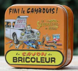 Blikje zeep - Bricoleur