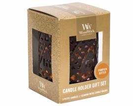 WoodWick Petite - Giftset Pumpkin Butter
