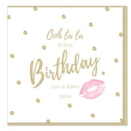 Hot Lips - Ooh La La It's Your Birthday