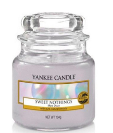 Yankee Candle - Sweet Nothings Small Jar