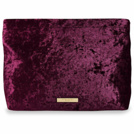 Velvet Pochette - Crushed Berry