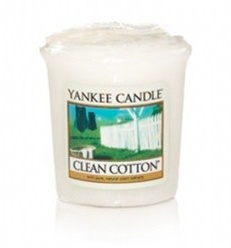 Yankee Candle - Clean Cotton Votive
