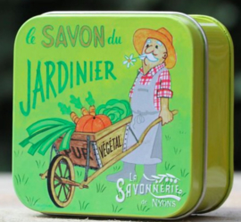 Blikje zeep - Jardinier