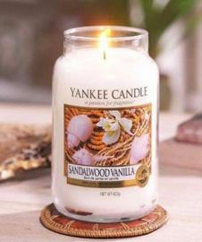Yankee Candle - Sandalwood Vanilla Large Jar