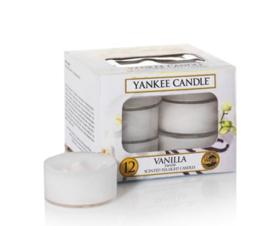 Yankee Candle - Vanilla Theelichtjes