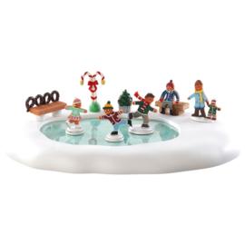 Gingerbread Skating Pond