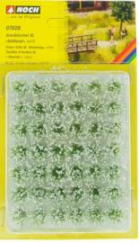Noch 07028 Graspollen XL 'Wit', 42 stuks