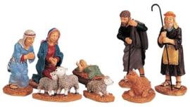 Nativity Figurines, Set Of 8