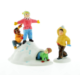 Fun In Snow, Set Of 2