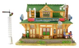 Village Crossing Depot, Set Of 2
