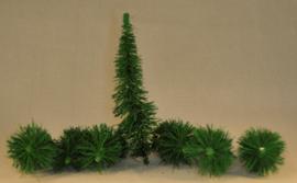 Bomen set 7 stuks