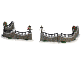 Stone Wall, Set Of 6
