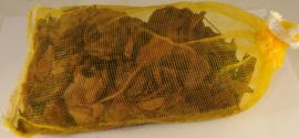 Zakje houtstukjes