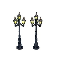 Old English Street Lamp, Set Of 2