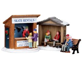 Skate Rentals, Set Of 3
