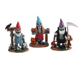 Skeleton Garden Gnomes - NEW 2021