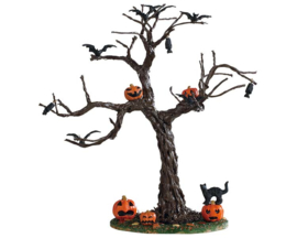 Batty For The Pumpkins Tree
