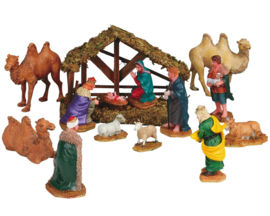 Nativity, Set Of 14