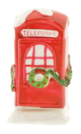 Dickensvale Porcelain Telephone Booth