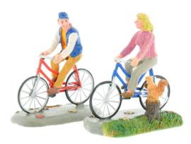 Romantic Bike Ride, Set Of 2