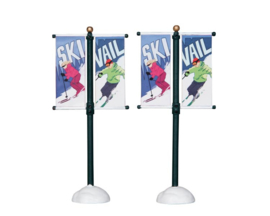Street Pole Banner, Set Of 2