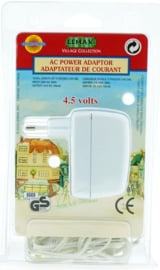 Ac Power Adapter - 4.5V 700MA (White)