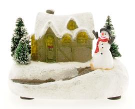 Small House - Snowman