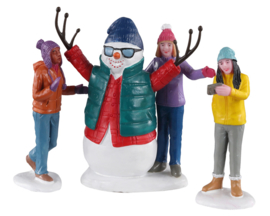 Snowman Selfie - NEW 2020