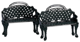 Patio Bench, Set Of 2