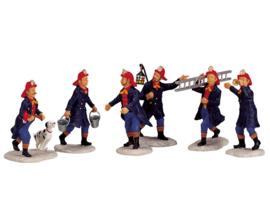 Firemen, Set Of 6
