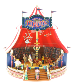 Mr.Christmas Musical World's Fair Big Top Circus