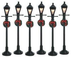 4'' Gas Latern Street Lamp, Set of 6