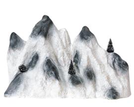 Medium Ski Mountain Backdrop