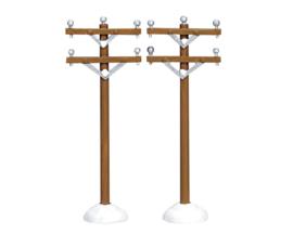 Telephone Poles, Set Of 2
