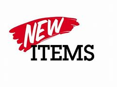 New articles in the webshop