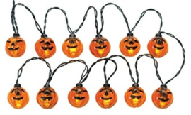 12 Lighted Pumpkin Garland
