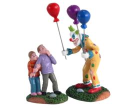 Creepy Balloon Seller, Set Of 2 - NEW 2021