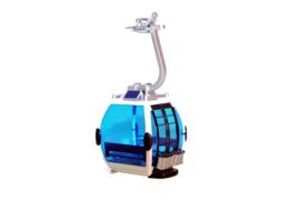 Gondel Omega IV Solar White / Blue