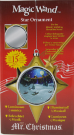 Mr.Christmas Magix Wand Star Ornament